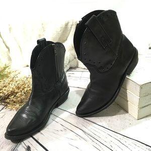 Blake Scott Desi western ankle boho boots